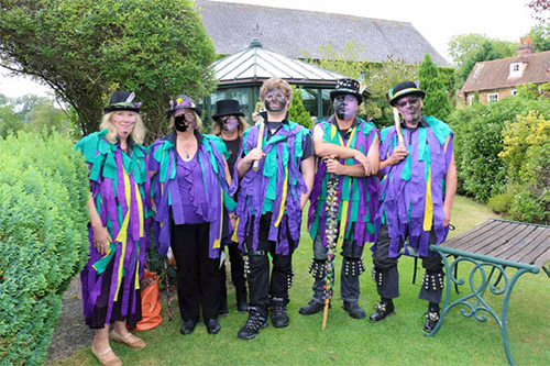 New for 2016 were the Calleva Carousel Morris Dancers