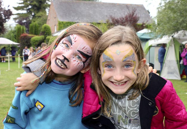Children's fun and excitement as always enhanced by Face-Painting